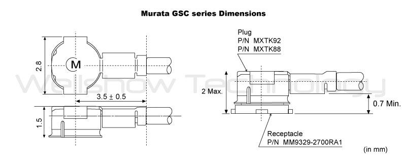 Murata GSC Dimension