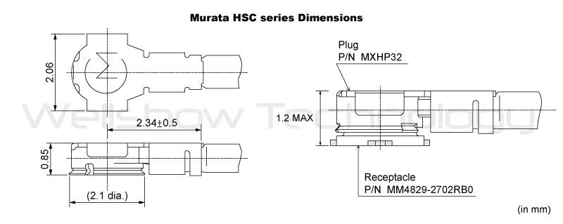 Murata HSC Dimension