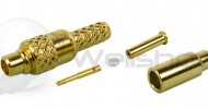 MMCX Straight Crimp Plug for RG178,RG196
