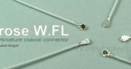 Hirose W.FL connector (Equiv. to IPEX MHF3 connector)