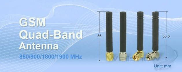 AR001 GSM Quad-Band Stubby Antenna
