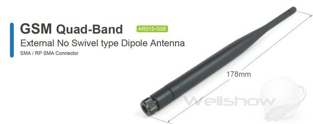AR015 GSM Quad-Band Antenna