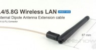 AR007 External 2.4/5.8G WiFi Antenna Extension cable
