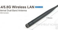 AR015 External 2.4/5.8G WiFi Antenna