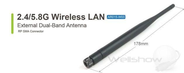 AR015 External 2.4/5.8G WiFi Antenna