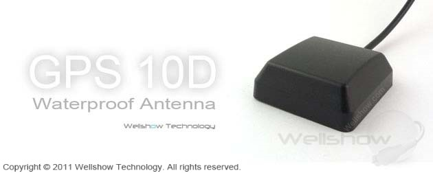 GPS 10D Waterproof Antenna
