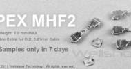 IPEX MHF2 Mini Coax Connector