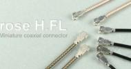 Hirose H.FL connector (Equiv. to Sunridge MCG connector)