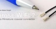 Hirose W.FL2 connector
